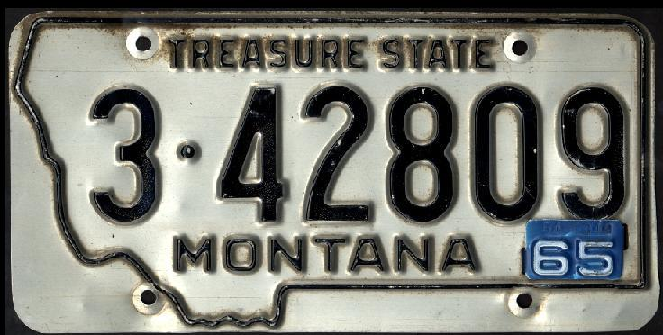 License Plate 16674