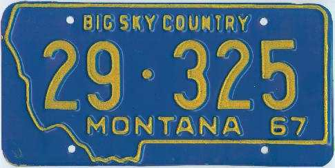 License Plate 16152