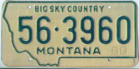 License Plate 16219