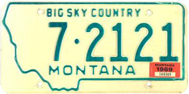 License Plate 16292