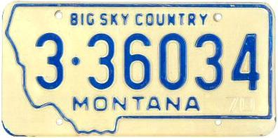 License Plate 15685