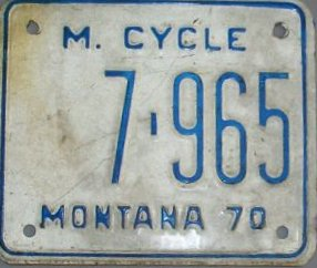 License Plate 15686