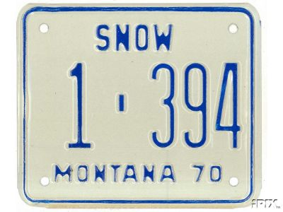 License Plate 5345