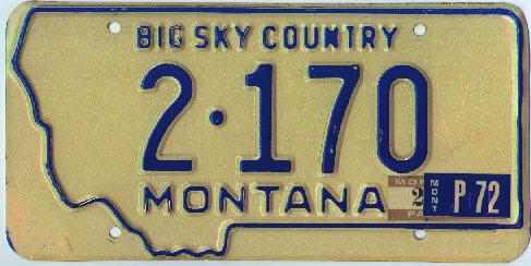 License Plate 15825