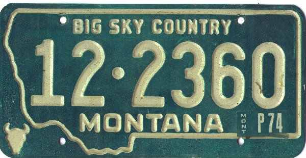 License Plate 15980