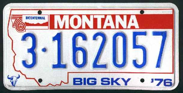 License Plate 15497