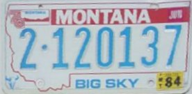 License Plate 15305