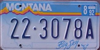 License Plate 14377