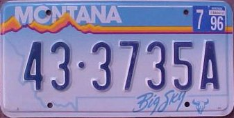 License Plate 14576