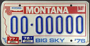 License Plate 15672