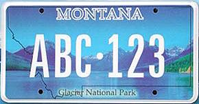 License Plate 9703