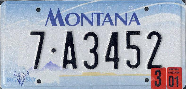 License Plate 10098