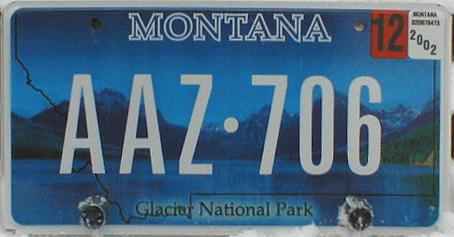 License Plate 10389