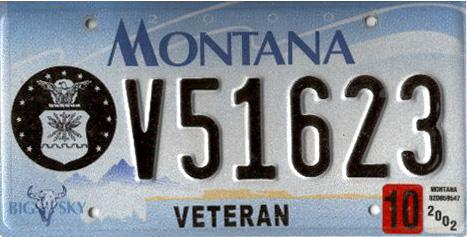 License Plate 1595