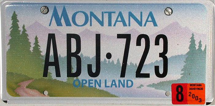 License Plate 9789