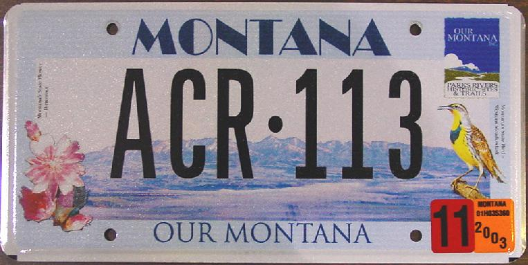 License Plate 9702