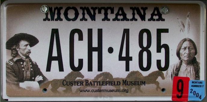 License Plate 10321