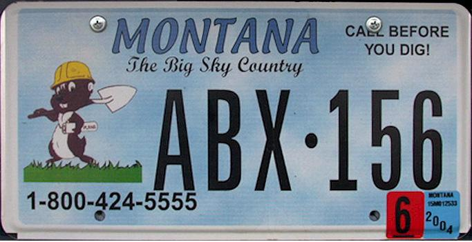 License Plate 10354