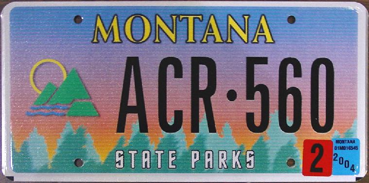 License Plate 9840