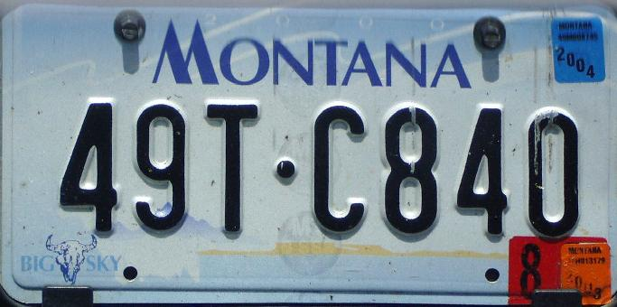 License Plate 9924