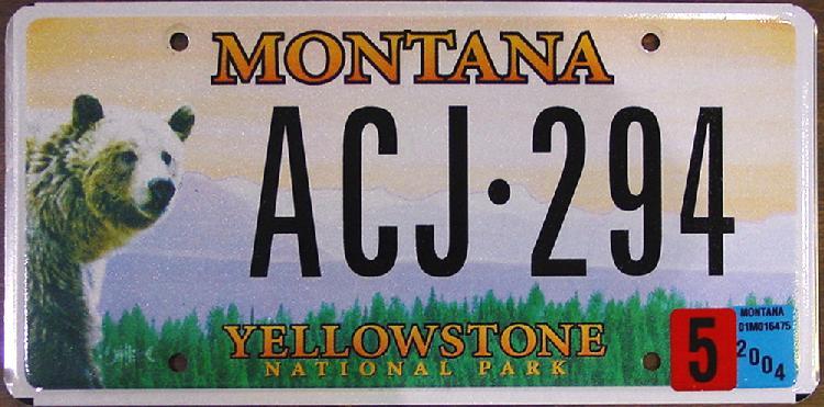 License Plate 9790