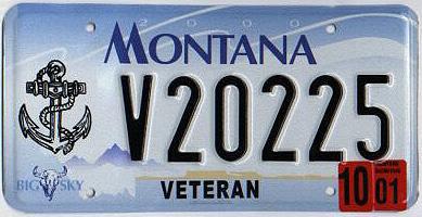 License Plate 9792
