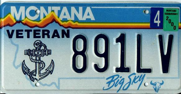 License Plate 1844