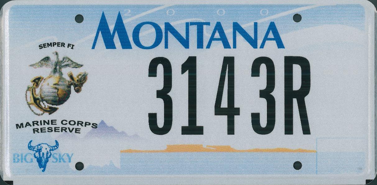 License Plate 9798