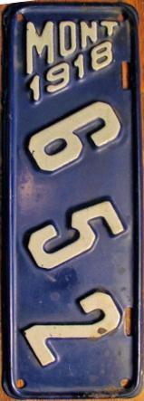 License Plate 9793