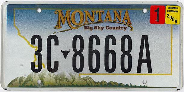 License Plate 10104