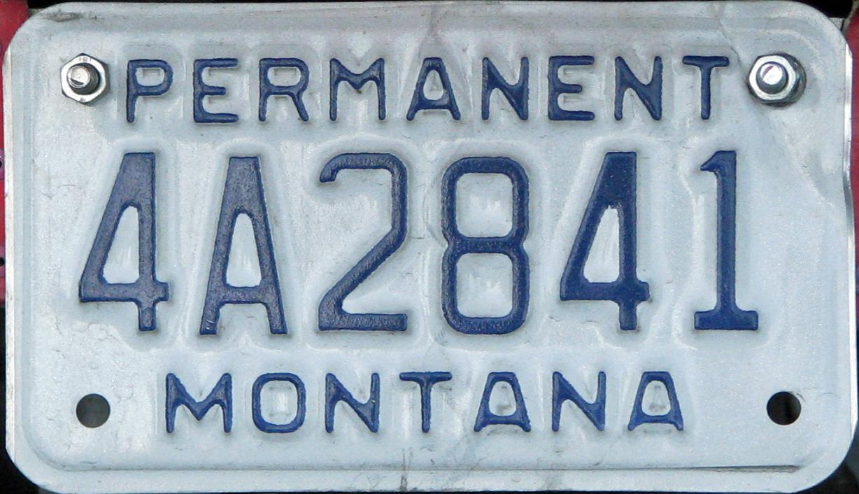 License Plate 9878