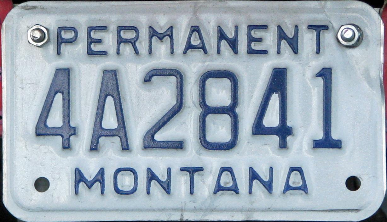License Plate 9878