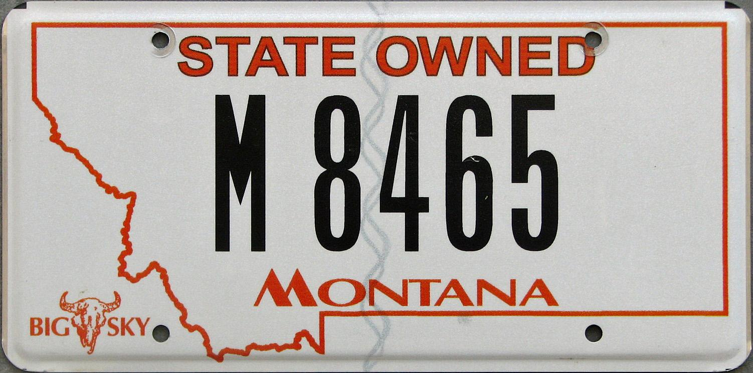 License Plate 9756