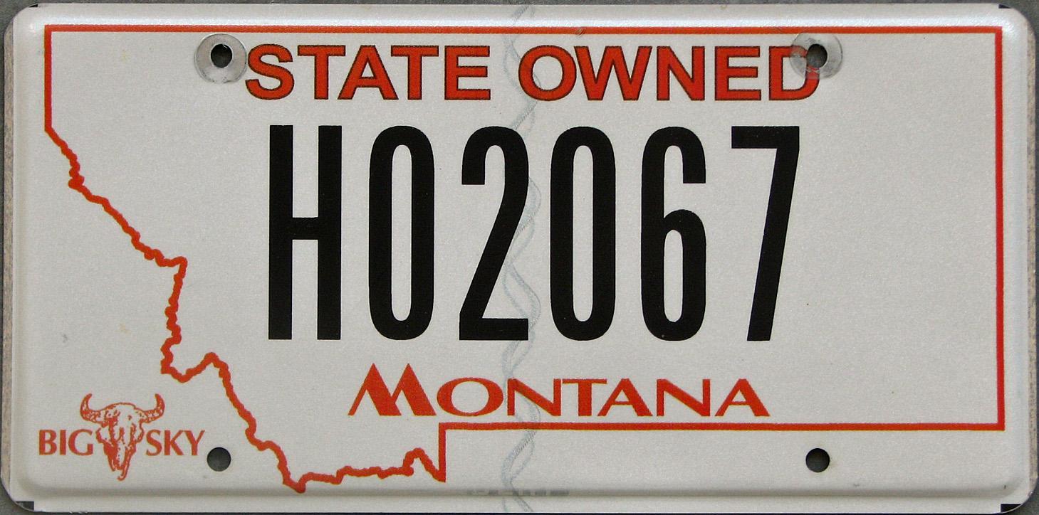 License Plate 9932