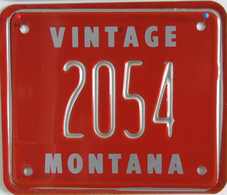 License Plate 9933