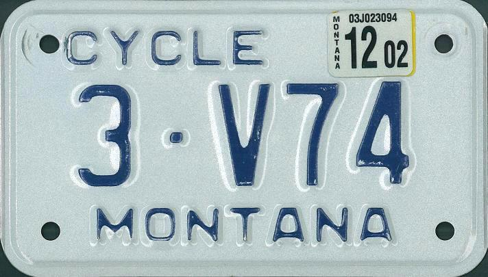 License Plate 13727