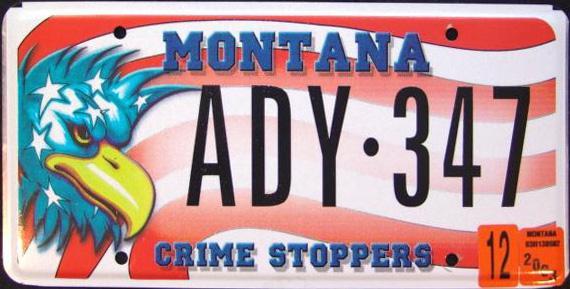 License Plate 9750