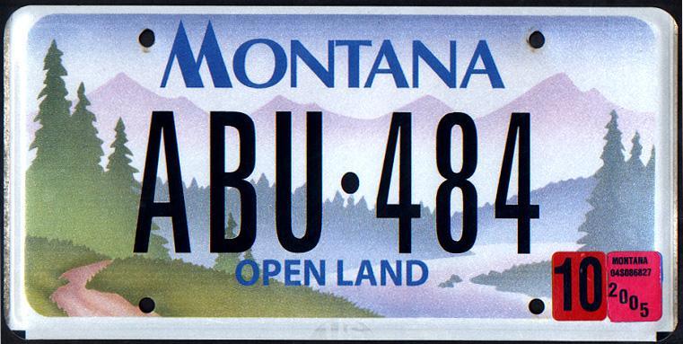 License Plate 9842
