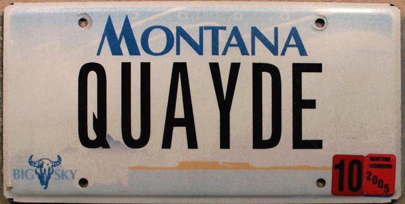 License Plate 681