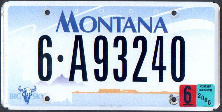 License Plate 13382