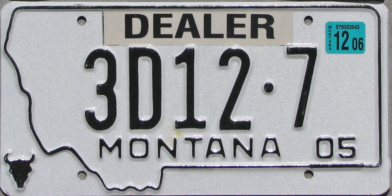 License Plate 9965