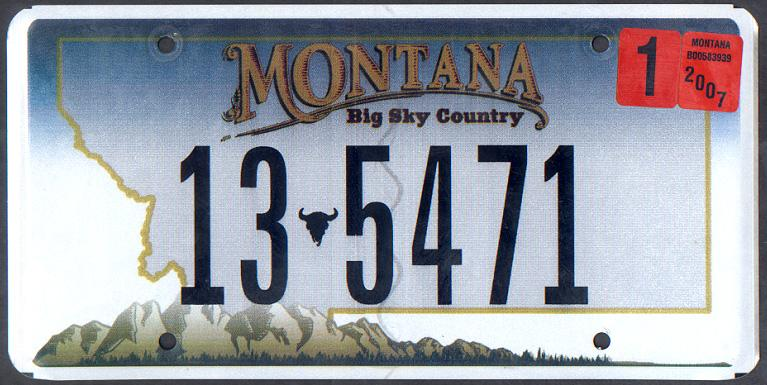 License Plate 10013