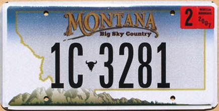 License Plate 13431