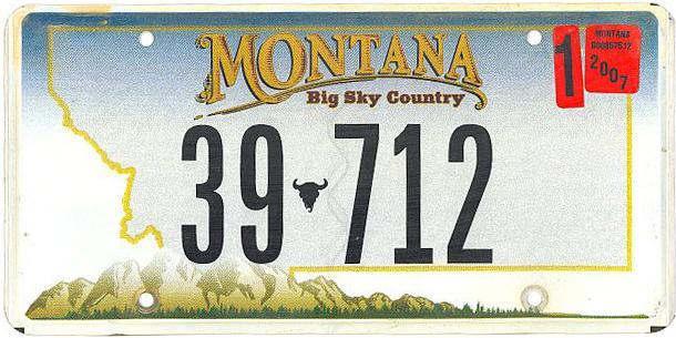 License Plate 10360