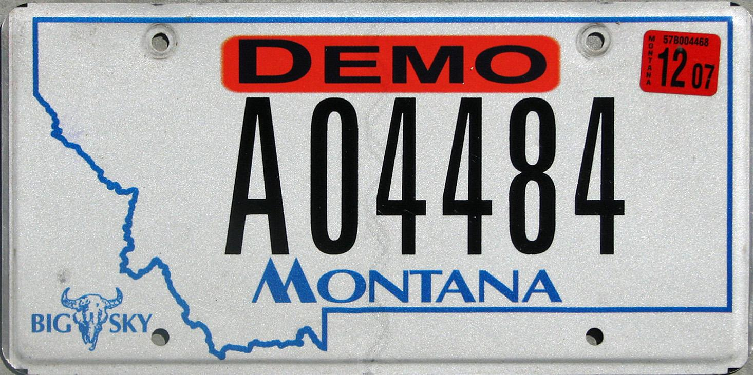 License Plate 10398