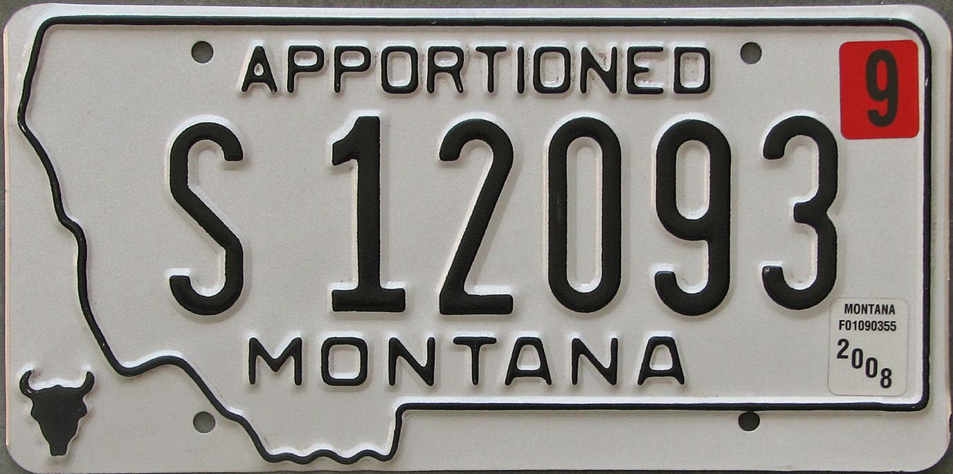 License Plate 10361
