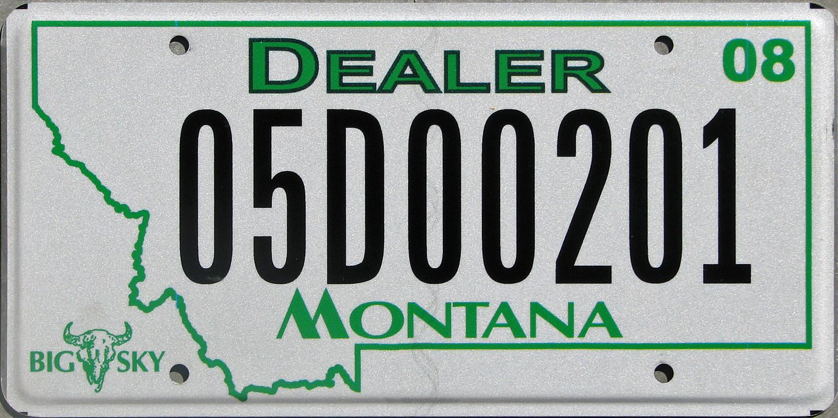 License Plate 9795