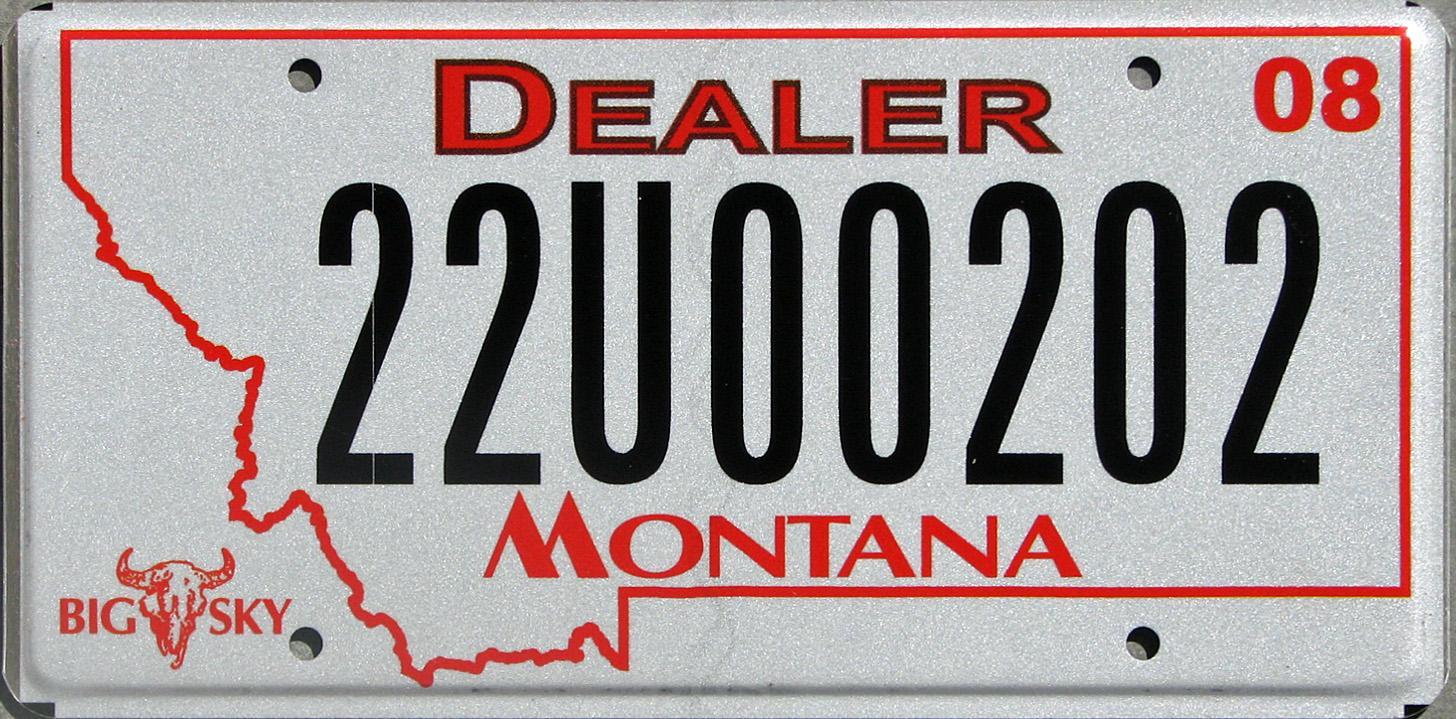 License Plate 10399