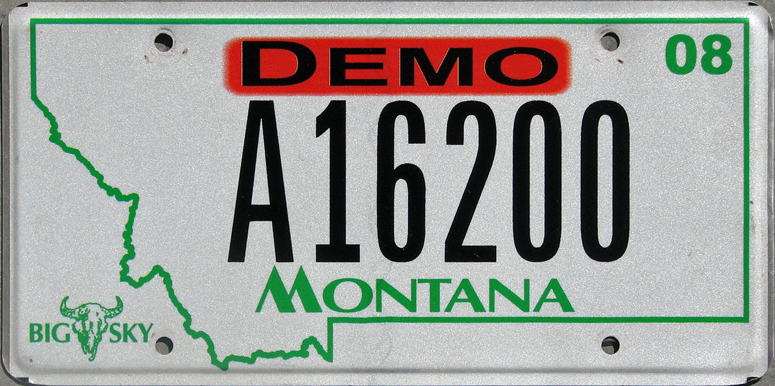License Plate 9796