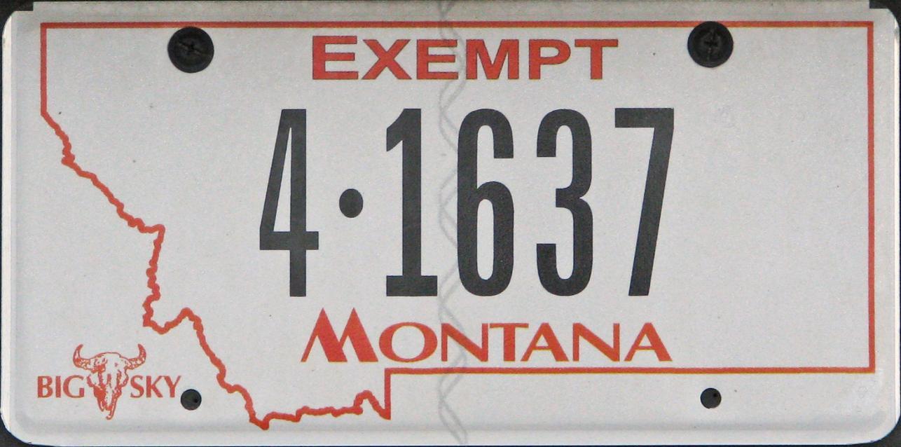 License Plate 9931